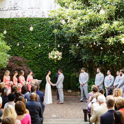 Atrium Wedding Photos