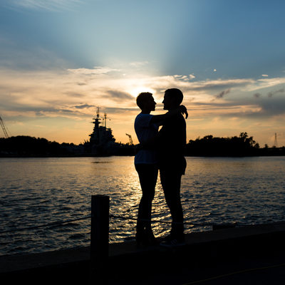 NC Battleship Engagement Photos
