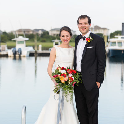 Figure Eight Island Yacht Club Wedding Photos