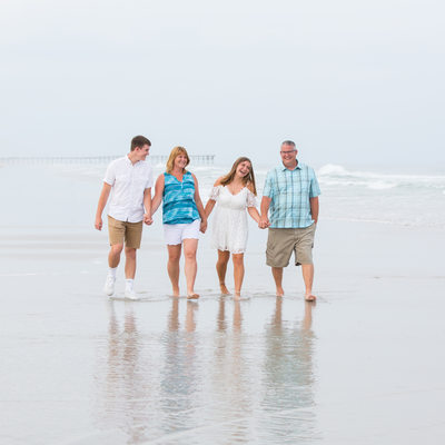 Bright Family Photos Topsail Beach