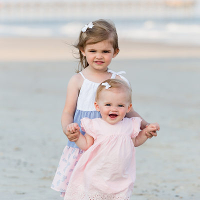 Sisters Photos at Topsail Island