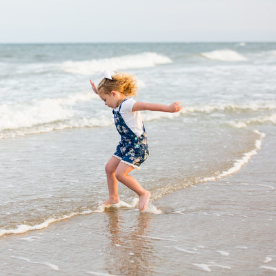 Kids Fun Photos at Topsail Beach