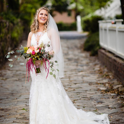Downtown Wilmington NC Bridal Photos