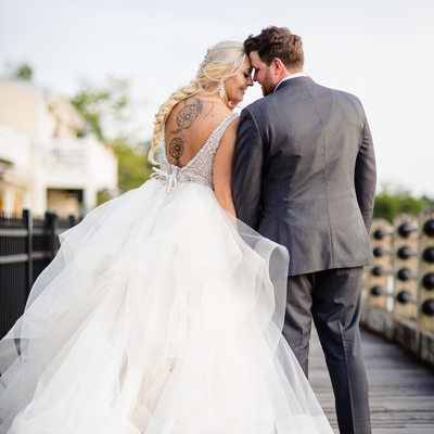Riverwalk Downtown Wilmington Wedding Photos