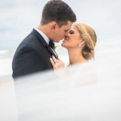 Fall Wedding Photos Topsail Beach
