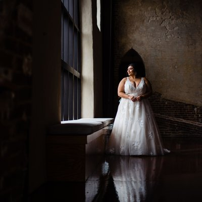 Brooklyn Arts Center Bridal Portrait