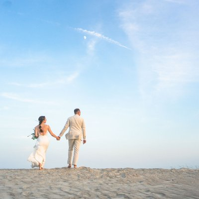 Topsail Beach Elopement Photographers