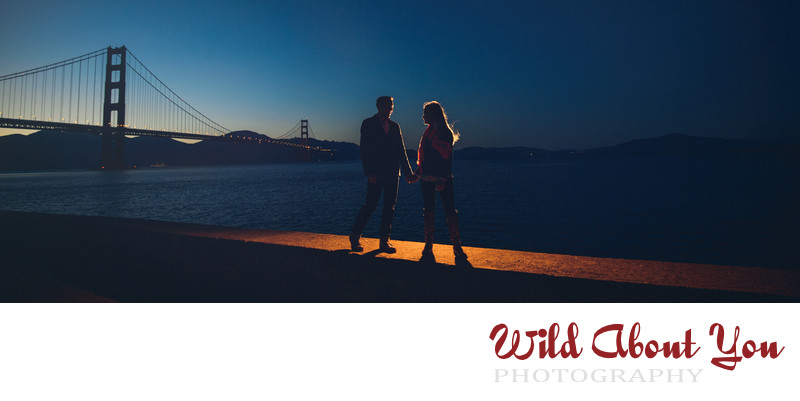 cinematic san francisco engagement photographer
