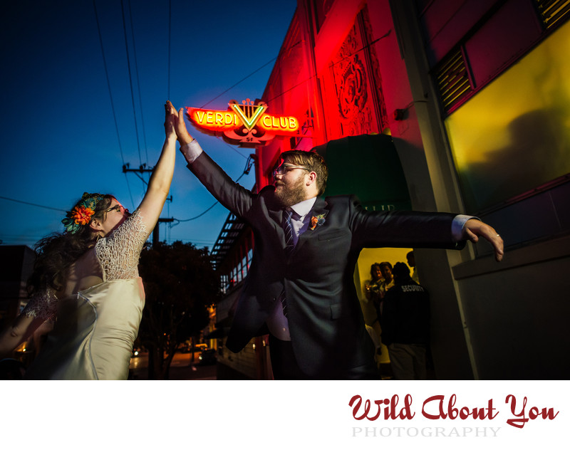 san francisco nontraditional wedding photographer