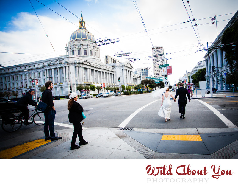 documentary san francisco city hall wedding photography