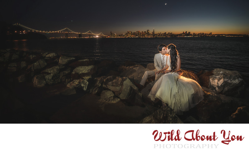 wedding photographers treasure island sf