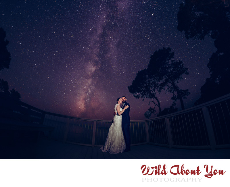 Milky Way wedding photographer