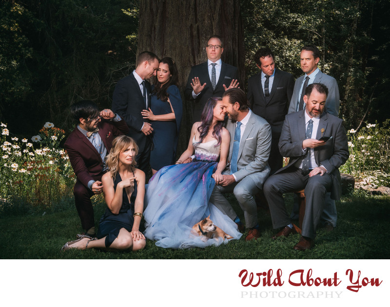 offbeat fun wedding photographer