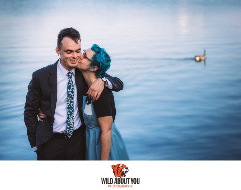 Quirky Oakland Wedding Photographers