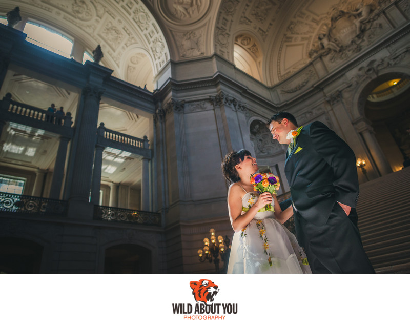 elopement photographer SF city hall