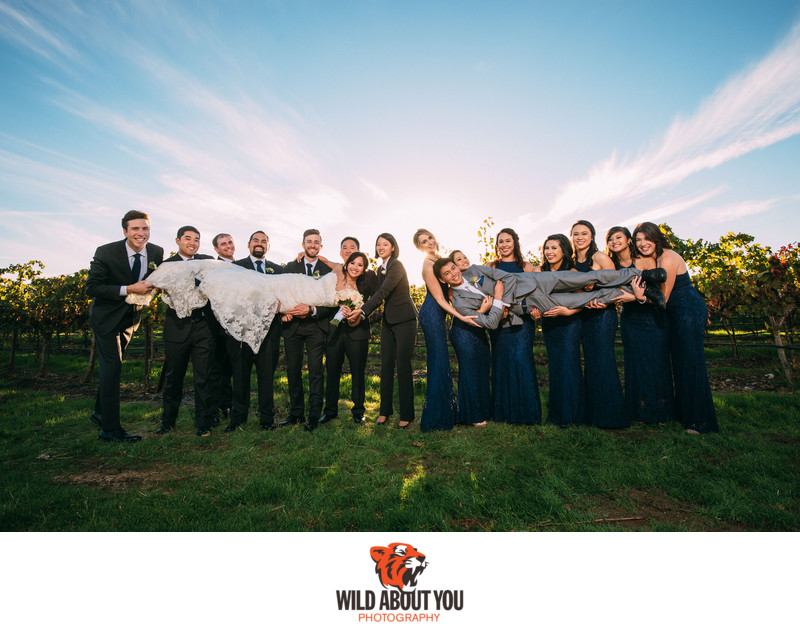 Fun Casa Real Wedding Photographer