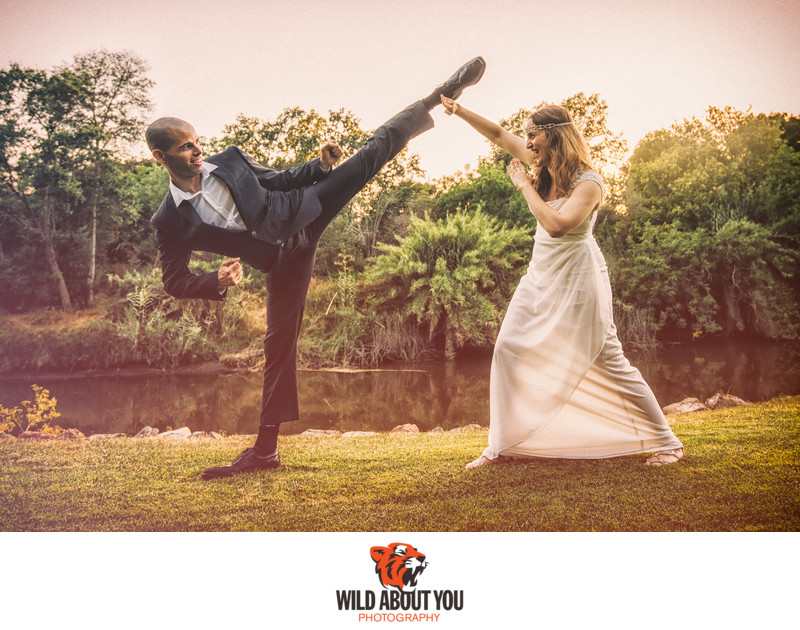 fun napa elopement wedding photographer