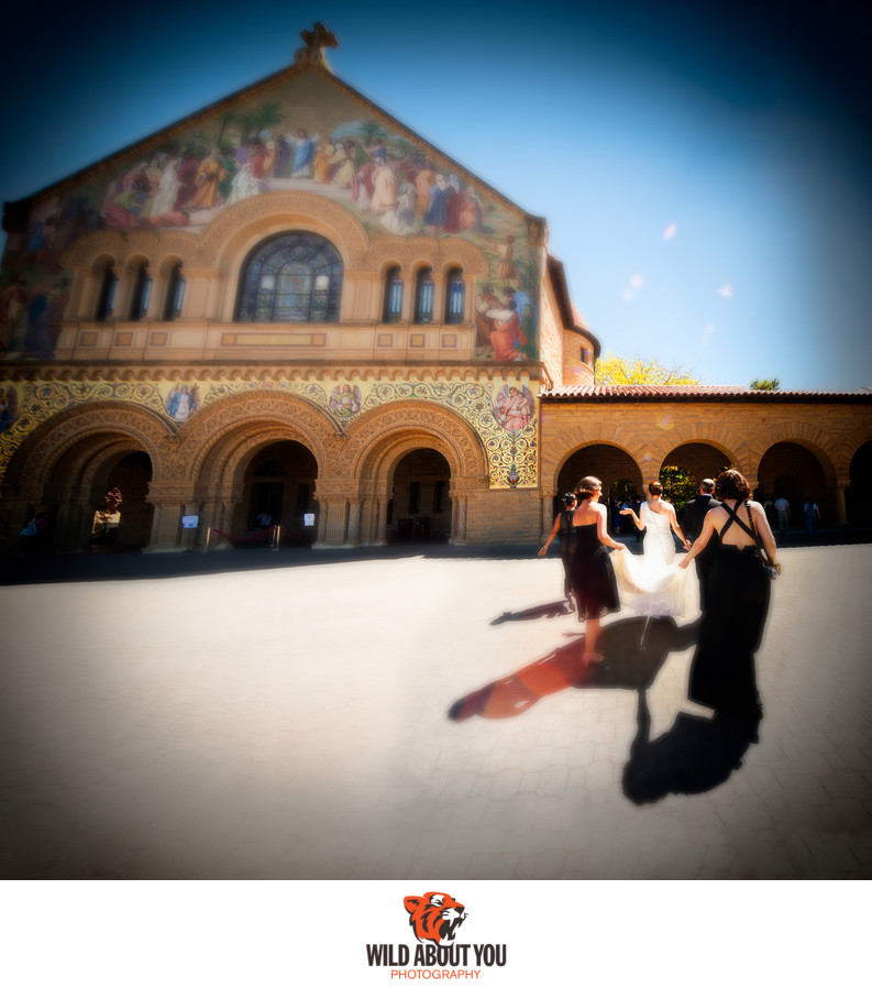 stanford church wedding photographer
