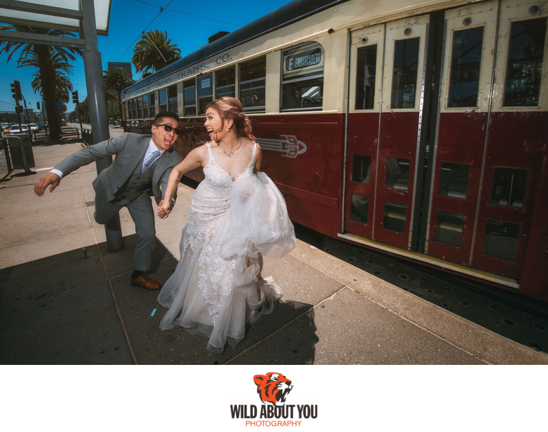 fun san francisco wedding photographer