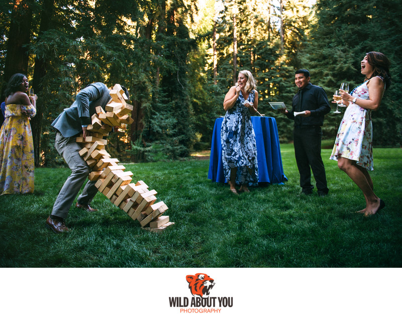 Fun wedding photographers Bay Area