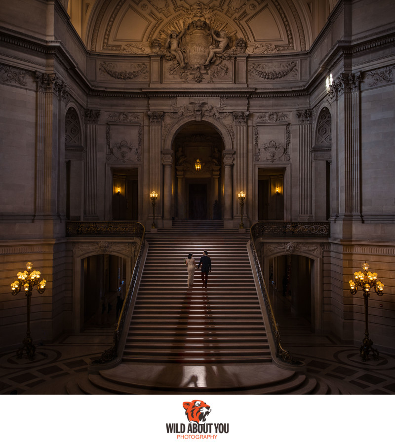 Elopement Photographer San Francisco City Hall