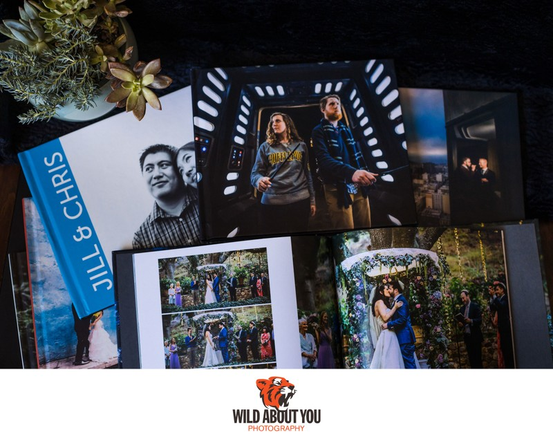 wedding and engagement photobooks