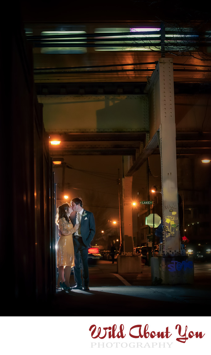 creative chicago wedding photographer