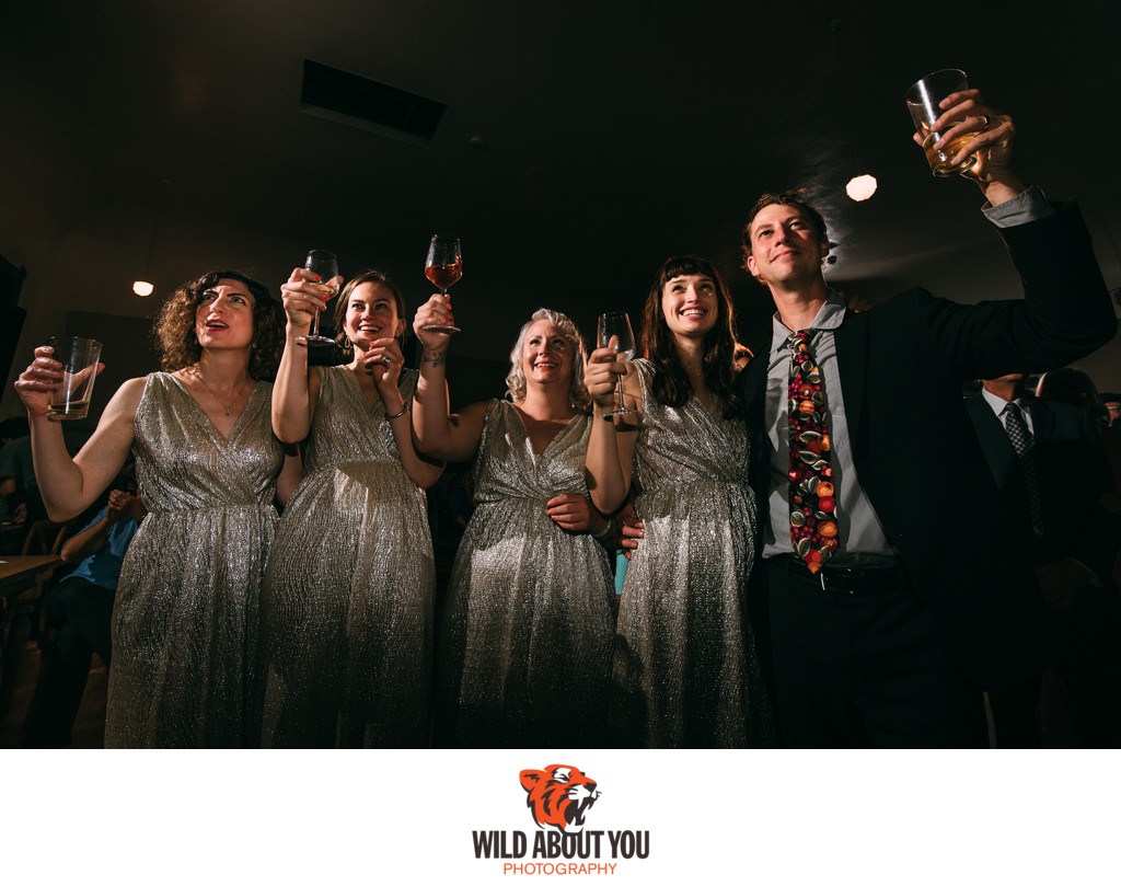 Starline Social Club Oakland Wedding Photographer