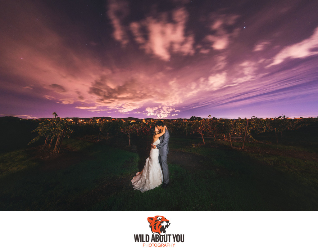 Casa Real vineyard wedding photographer