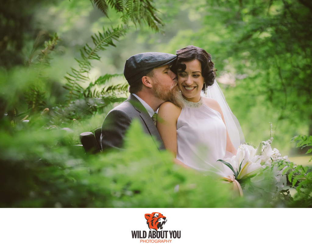 romantic nestldown wedding photographer