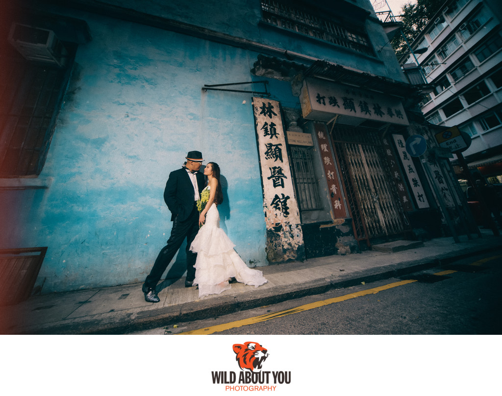dramatic hong kong prewedding photography