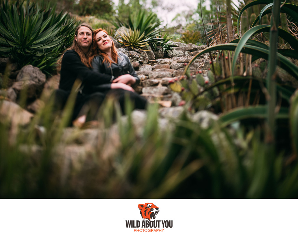berkeley botanical garden engagement