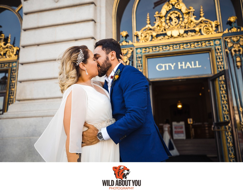 wedding photography San Francisco City Hall