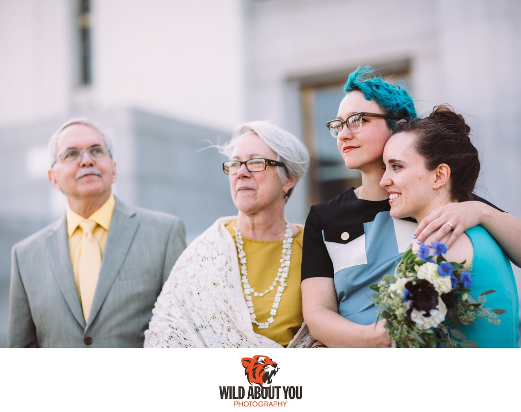 Oakland city hall elopement photographers