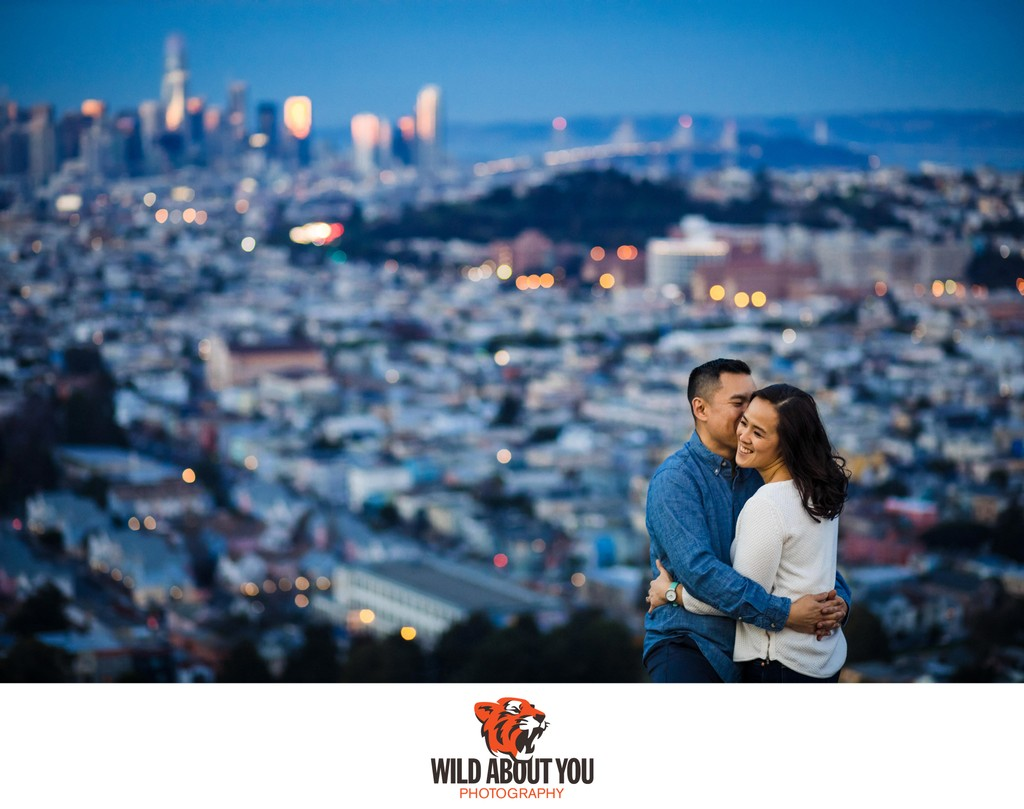 SF engagement photography