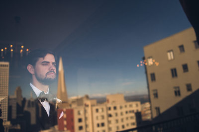 SF University Club wedding photographers