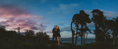 epic san francisco engagement photography