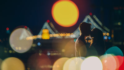 best dramatic san francisco engagement photographer
