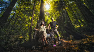 bay area fantasy engagement photographer