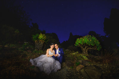 UC Berkeley Botanical Garden Wedding Photographer