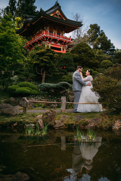 sf japanese tea garden elopement photographer