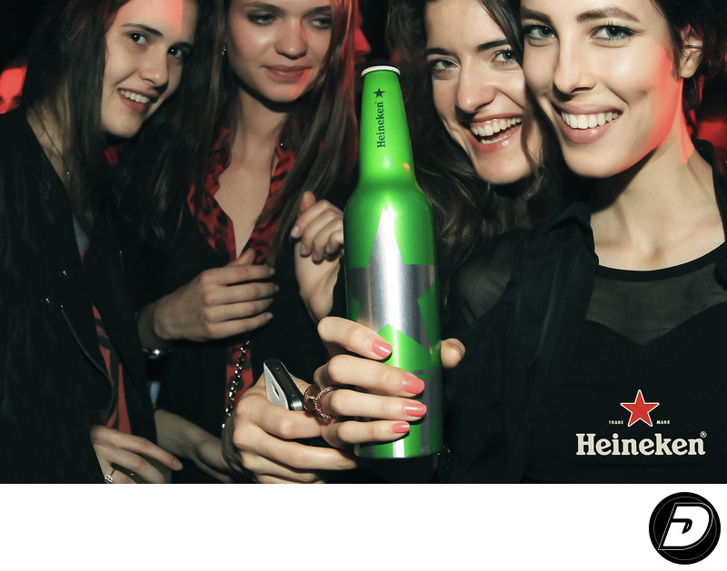 Heineken Four women Advertising Photographer