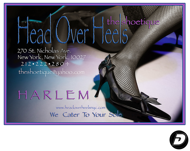 Head Over Heel Shoe Harlem Fashion Photographer