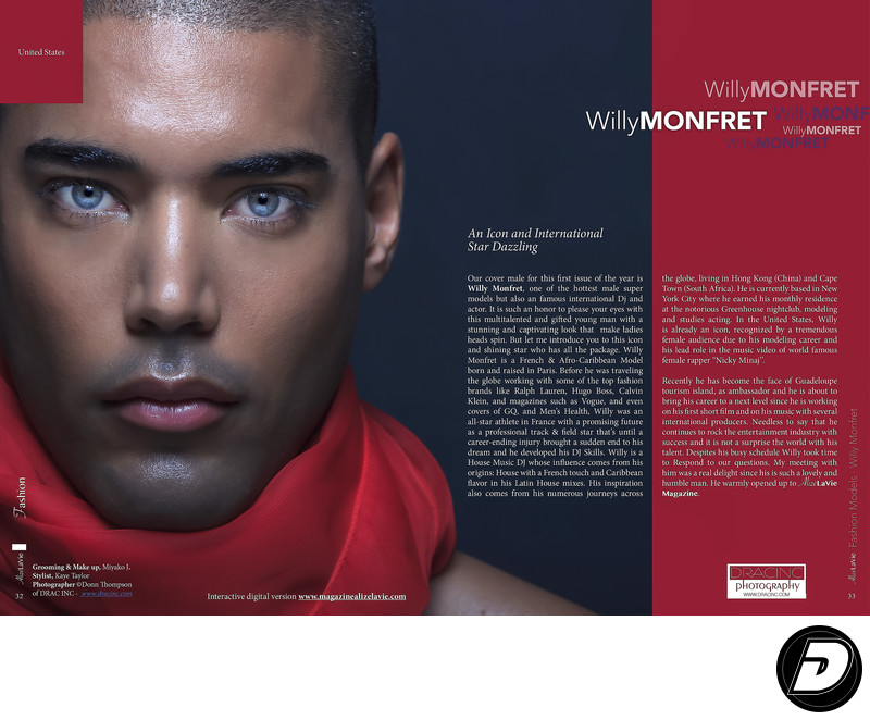 DJ Willy Monfret Alize La Vie Page 32 Photographer