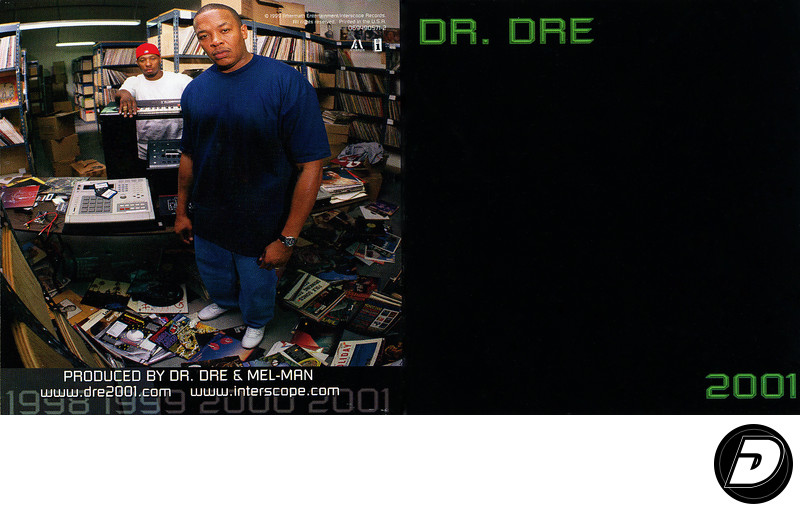 Dr. Dre 2001 CD Cover Photographer