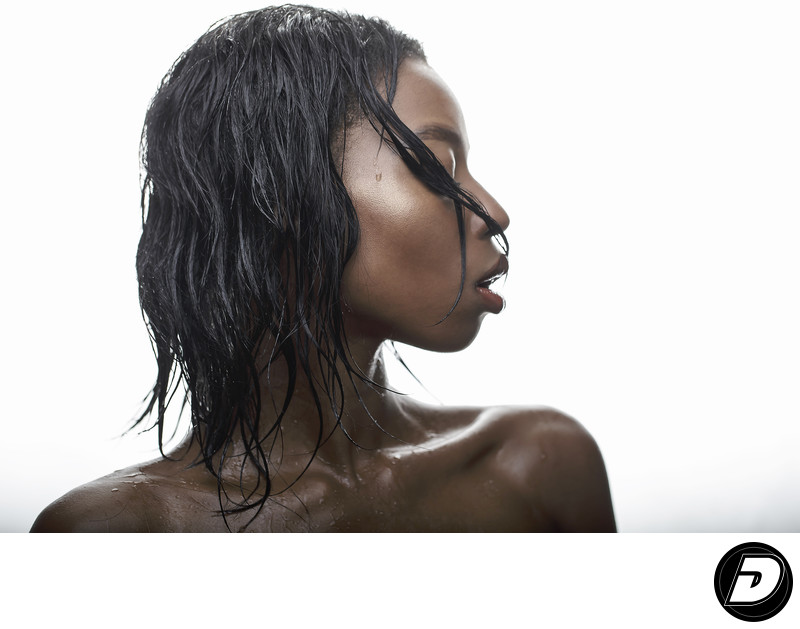 Wet Hair Beauty Shot Dracinc Photography