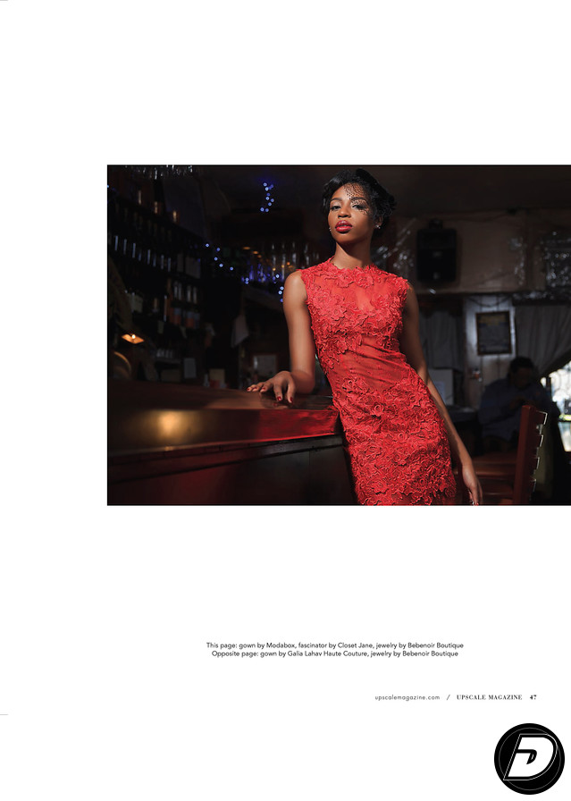 Upscale Magazine Paris Blues Beauty Photographer