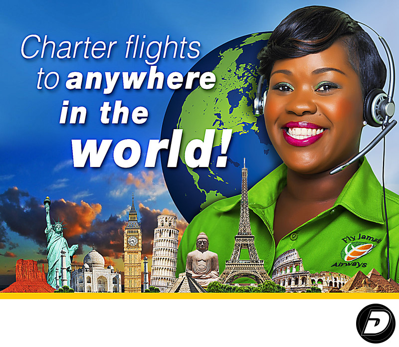 Fly Jamaica Charter Flights Ad Campaign Photographer