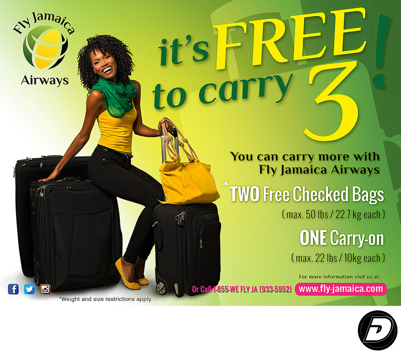 Fly Jamaica Airline Advertising