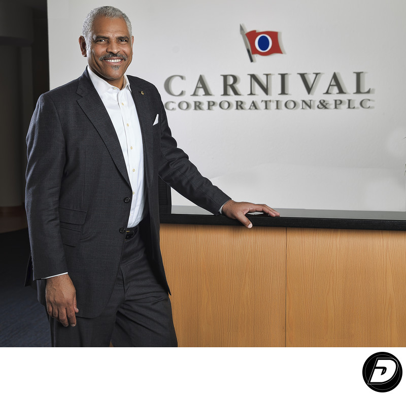 Florida Carnival Cruise Office Portrait Photographer